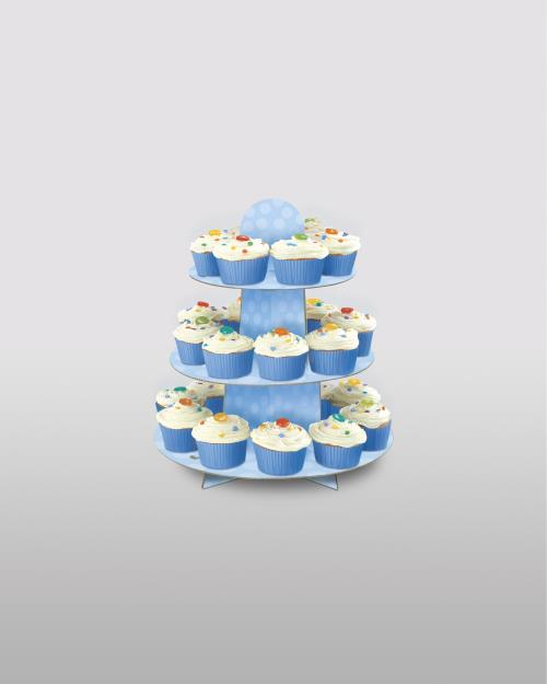 Cake Stand Blue Cake Accessories