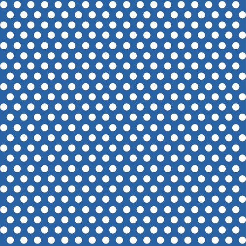 Gift Wrap 1.5m Polka Dot Party Dots Royal Blue Gift Giving Wrapping Paper